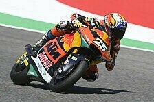Moto2 Mugello 2021: Raul Fernandez fährt im Regen auf Pole