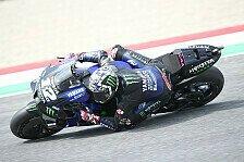MotoGP Assen: Vinales im Warm-Up vor Quartararo an der Spitze