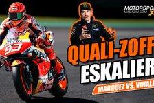 MotoGP - Video: Marquez und Vinales bekriegen sich im MotoGP-Q2 von Mugello