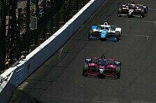 Indy 500 2021: Castroneves rast in Schluss-Krimi zum Rekordsieg