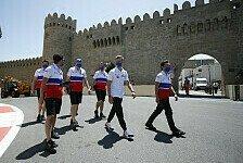 Formel 1 Ticker-Nachlese Baku: Erste News & Pressekonferenz