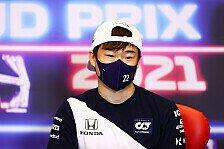 Formel 1 - Tsunoda sucht Weg aus Krise: Werde zum Bodybuilder