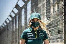 Formel 1 - Video: Vettel-Kollegin Hawkins erzählt über ihre Motorsport-Karriere