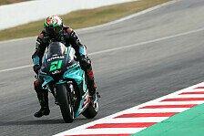 MotoGP Barcelona: Morbidelli holt Bestzeit, Rossi steht in Q2