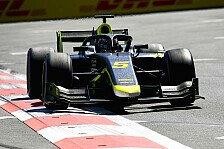 Formel 2 Sotschi - Sprintrennen: Ticktum gewinnt, Zendeli P10