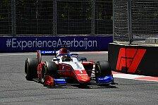 Formel 2: Shwartzman holt ersten Saisonsieg in Baku