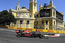 Formel 1, Baku: Perez von Verbremser und Kollegen genervt
