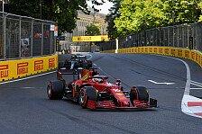 Formel 1 Baku: Leclerc-Pole nach Crash-Qualifying & Abbruch