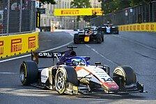 Formel 2: David Beckmann holt in Baku zweiten Podestplatz