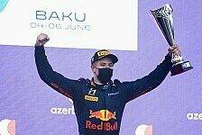 Formel 2: Jüri Vips holt Doppelsieg in Baku