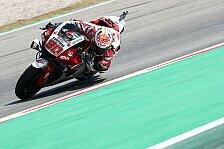 MotoGP Barcelona Warm Up: Bestzeit für Nakagami, Vinales crasht