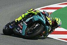 Valentino Rossi atmet auf: Große Fortschritte in Barcelona