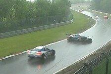 24 h Nürburgring - Video: 24h Nürburgring 2021: Unfälle bei Regen-Chaos