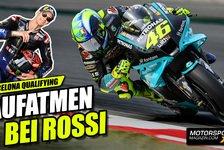 MotoGP - Video: Valentino Rossi: Positive Signale in Barcelona