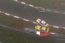Maro Engel verliert Platz zwei nach Unfall bei 24h Nürburgring