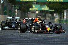 Formel 1, Perez: Dank Hamilton, Verstappen neuen Level erreicht