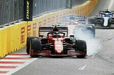 Formel 1 Baku, Sainz sauer auf sich selbst: War unkonzentriert