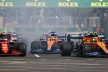 Formel 1 Baku 2021 - Norris ärgert sich: Podium verpasst