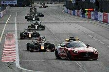 Formel-1-Rennleitung nach Baku-Unfällen in der Kritik: Ein Witz