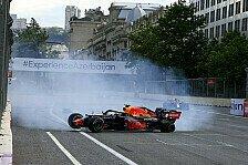 Formel 1 Baku: Perez siegt vor Vettel, Verstappen crasht!