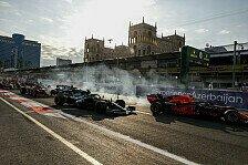 Formel 1 2021: Aserbaidschan GP - Die spektakulärsten Fotos