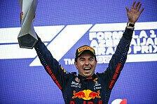 Formel 1: Red Bull verlängert mit Sergio Perez für 2022!