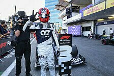 Formel 1 - Video: Formel 1, AlphaTauri feiert Podium: Freude in Aserbaidschan
