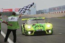 Porsche gewinnt kürzestes 24h-Rennen Nürburgring der Geschichte