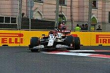 Formel 1 Baku: Räikkönen überholt Bottas und beendet Flaute