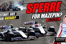 Formel 1 - Video: Formel 1: Sollte Mazepin für sein Manöver bestraft werden?