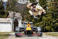 Formel 1 - Video: Formel 1, Red Bull: Coulthard rast durch Osteuropa