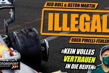 Formel 1 - Video: Formel 1 Reifenschäden: Waren Red Bull & Aston Martin illegal?