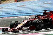 Formel 1 - Video: Charles Leclerc zeigt sein Helmdesign für den Frankreich GP