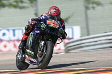 MotoGP Sachsenring: Quartararo holt Bestzeit, viele Stars in Q1