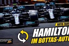 Formel 1 - Video: Formel 1: Warum fährt Hamilton im Bottas-Mercedes?