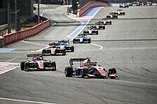 Formel 3, Frankreich: David Schumacher vergibt Chance auf Punkt