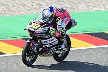 Moto3 Sachsenring 2021: Filip Salac mit Pole-Debüt