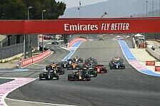 Formel 1 Rennkalender 2022: Frankreich & Singapur wackeln