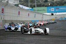 Formel E: Wehrlein verpasst Sieg-Revanche in Puebla