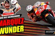 MotoGP - Video: Marc Marquez triumphiert am Sachsenring: Glück des Tüchtigen