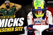 Formel 1 - Video: Formel 1: Mick Schumacher seit Saisonstart im falschen Sitz!