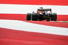 Formel 1 Österreich I, 1. Training: Verstappen dominiert
