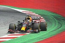 Formel 1, Österreich FP2 : Verstappen-Bestzeit vor Ricciardo
