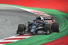 Formel 1, Honda-Triebwerk macht Probleme: Pierre Gasly im Pech