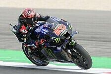 MotoGP Silverstone: Fabio Quartararo führt FP4 an