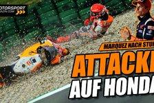 MotoGP - Video: Zwist bei Honda nach Marquez-Highsider in Assen