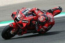 MotoGP Misano: Bagnaia erneut auf Pole, Quartararo stürzt