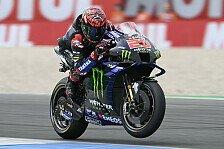 MotoGP Assen: Fabio Quartararo dominiert, Rossi fliegt ab