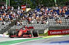 Formel 1 Österreich: Leclerc crasht sich zum Fahrer des Tages