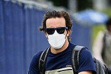 Formel 1, Fernando Alonso: Track Walks sind Aberglaube
